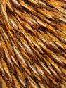 Fiber Content 50% Acrylic, 50% Wool, Brand ICE, Gold, Cream, Brown Shades, fnt2-57864