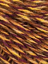 Fiber Content 50% Wool, 50% Acrylic, Yellow, Purple, Brand ICE, Cream, Brown, fnt2-57867
