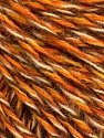 Fiber Content 50% Wool, 50% Acrylic, Brand ICE, Gold, Cream, Camel, Brown, fnt2-57868