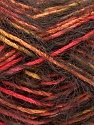 Fiber Content 55% Acrylic, 45% Polyamide, Salmon, Orange, Brand ICE, Gold, Brown, fnt2-57884
