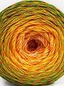 Fiber Content 50% Cotton, 50% Acrylic, Yellow, White, Orange, Brand ICE, Green Shades, Yarn Thickness 2 Fine  Sport, Baby, fnt2-57926