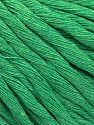 Fiber Content 100% Cotton, Brand ICE, Green, Yarn Thickness 5 Bulky  Chunky, Craft, Rug, fnt2-57942