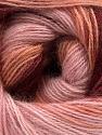 Fiber Content 75% Acrylic, 25% Angora, Salmon, Pink Shades, Brand ICE, Burgundy, fnt2-58018