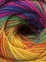 Fiber Content 75% Acrylic, 25% Angora, Rainbow, Brand ICE, fnt2-58022