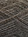 Fiber Content 50% Polyamide, 40% Baby Alpaca, 10% Wool, Brand ICE, Grey, Brown Shades, fnt2-58072