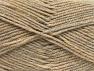Fiber Content 50% Acrylic, 50% Wool, Brand ICE, Beige Melange, fnt2-58185