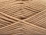 Fiber Content 72% Premium Acrylic, 3% Metallic Lurex, 25% Wool, Brand ICE, Gold, Beige, Yarn Thickness 5 Bulky  Chunky, Craft, Rug, fnt2-58198