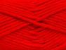 Fiber Content 72% Premium Acrylic, 3% Metallic Lurex, 25% Wool, Red, Brand ICE, Yarn Thickness 5 Bulky  Chunky, Craft, Rug, fnt2-58207