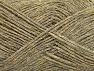 Fiber Content 90% Acrylic, 10% Metallic Lurex, Brand ICE, Grey, Gold, Beige, fnt2-58220