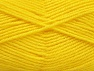 Fiber Content 50% Wool, 50% Acrylic, Yellow, Brand ICE, fnt2-58378