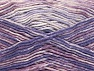 Fiber Content 50% Premium Acrylic, 50% Cotton, Orchid, Lilac Shades, Brand ICE, Yarn Thickness 2 Fine  Sport, Baby, fnt2-58412