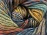 Fiber Content 70% Wool, 30% Acrylic, Khaki, Brand ICE, Brown, Blue Shades, Yarn Thickness 5 Bulky  Chunky, Craft, Rug, fnt2-58443