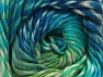 Fiber Content 70% Wool, 30% Acrylic, Turquoise Shades, Brand ICE, Green, Blue, Yarn Thickness 5 Bulky  Chunky, Craft, Rug, fnt2-58446