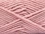 Fiber Content 72% Premium Acrylic, 3% Metallic Lurex, 25% Wool, Light Pink, Brand ICE, fnt2-58455