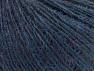 Fiber Content 55% Acrylic, 25% Alpaca, 20% Wool, Brand ICE, Dark Blue, fnt2-58492