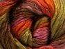 Fiber Content 50% Acrylic, 50% Wool, Rose Pink, Orange, Brand ICE, Green, Brown, fnt2-58582