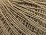 Fiber Content 50% Wool, 50% Acrylic, Brand ICE, Beige, fnt2-58864