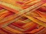 Fiber Content 100% Polyamide, Yellow, Salmon, Light Green, Brand ICE, Yarn Thickness 4 Medium  Worsted, Afghan, Aran, fnt2-58923