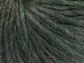 Fiber Content 50% Merino Wool, 25% Acrylic, 25% Alpaca, Brand ICE, Dark Green Melange, fnt2-58926