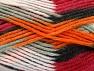 Fiber Content 80% Acrylic, 20% Polyamide, White, Orange, Light Grey, Brand ICE, Burgundy, Black, fnt2-58994
