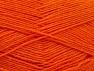 Fiber Content 75% Superwash Wool, 25% Polyamide, Orange, Brand ICE, fnt2-59001