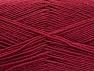Fiber Content 75% Superwash Wool, 25% Polyamide, Brand ICE, Burgundy, fnt2-59004