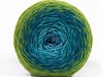 Fiber Content 75% Superwash Wool, 25% Polyamide, Turquoise Shades, Brand ICE, Green Shades, fnt2-59069