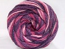 Fiber Content 50% Acrylic, 50% Polyamide, Purple, Pink Shades, Brand ICE, Yarn Thickness 5 Bulky  Chunky, Craft, Rug, fnt2-59346