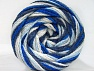 Fiber Content 50% Polyamide, 50% Acrylic, White, Navy, Brand ICE, Blue Shades, fnt2-59350