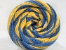 Fiber Content 50% Acrylic, 50% Polyamide, Yellow, White, Brand ICE, Blue Shades, fnt2-59351