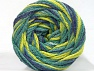 Fiber Content 50% Acrylic, 50% Polyamide, Jeans Blue, Brand ICE, Green Shades, fnt2-59353