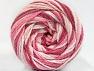 Fiber Content 50% Polyamide, 50% Acrylic, White, Pink Shades, Brand ICE, fnt2-59358