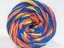Fiber Content 50% Polyamide, 50% Acrylic, Yellow, Salmon Shades, Brand ICE, Blue, fnt2-59361