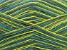 Fiber Content 75% Superwash Wool, 25% Polyamide, Turquoise, Light Green, Brand ICE, Grey, fnt2-59495