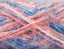 Fiber Content 60% Acrylic, 40% Polyamide, White, Salmon Shades, Brand ICE, Blue Shades, Yarn Thickness 4 Medium  Worsted, Afghan, Aran, fnt2-59684