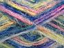Fiber Content 60% Acrylic, 40% Polyamide, Pink, Neon Yellow, Brand ICE, Blue, Yarn Thickness 4 Medium  Worsted, Afghan, Aran, fnt2-59686