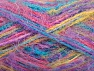 Fiber Content 60% Acrylic, 40% Polyamide, Yellow, Turquoise, Pink, Lilac, Brand ICE, fnt2-59691