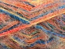 Fiber Content 60% Acrylic, 40% Polyamide, Yellow, Turquoise, Salmon, Orange, Brand ICE, fnt2-59693