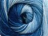 Fiber Content 60% Acrylic, 20% Angora, 20% Wool, Brand ICE, Blue Shades, fnt2-59755