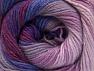 Fiber Content 70% Acrylic, 30% Merino Wool, Purple, Orchid, Lilac Shades, Brand ICE, fnt2-59777