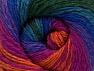 Fiber Content 70% Acrylic, 30% Merino Wool, Turquoise, Purple, Orange, Brand ICE, Green, Fuchsia, fnt2-59779