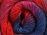 Fiber Content 50% Wool, 50% Acrylic, Red, Navy, Lilac, Brand ICE, Fuchsia, fnt2-59786