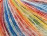 Fiber Content 50% Acrylic, 35% Mohair, 15% Polyamide, Rainbow, Brand ICE, fnt2-59845