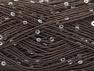 Fiber Content 90% Acrylic, 10% Paillette, Brand ICE, Brown, fnt2-59859