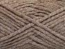 Fiber Content 7% Metallic Lurex, 46% Wool, 27% Viscose, 20% Polyamide, Silver, Brand ICE, Beige, fnt2-59981