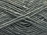 Fiber Content 60% Cotton, 40% Wool, Brand ICE, Grey Melange, fnt2-59984