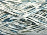 Fiber Content 60% Acrylic, 40% Polyamide, White, Brand ICE, Blue Shades, fnt2-59990