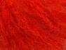 Fiber Content 45% Acrylic, 25% Wool, 20% Mohair, 10% Polyamide, Brand ICE, Dark Orange, fnt2-60056