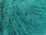 Fiber Content 45% Acrylic, 25% Wool, 20% Mohair, 10% Polyamide, Turquoise, Brand ICE, fnt2-60058