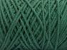 Fiber Content 100% Cotton, Brand ICE, Dark Green, Yarn Thickness 5 Bulky  Chunky, Craft, Rug, fnt2-60167